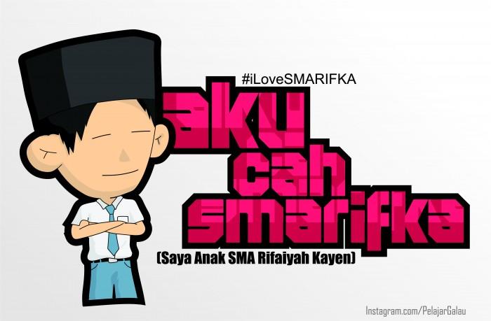 #iLoveSMARIFKA Part 1 - Azka F. Alhamdi